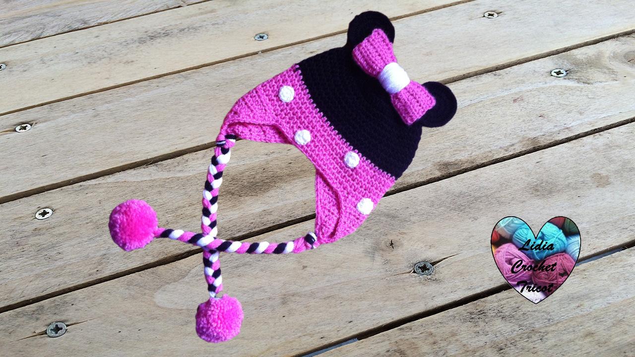 magasiner pour véritable livraison gratuite meilleure collection Bonnet Minnie Mouse: tutoriel au crochet, présenté par Lidia ...