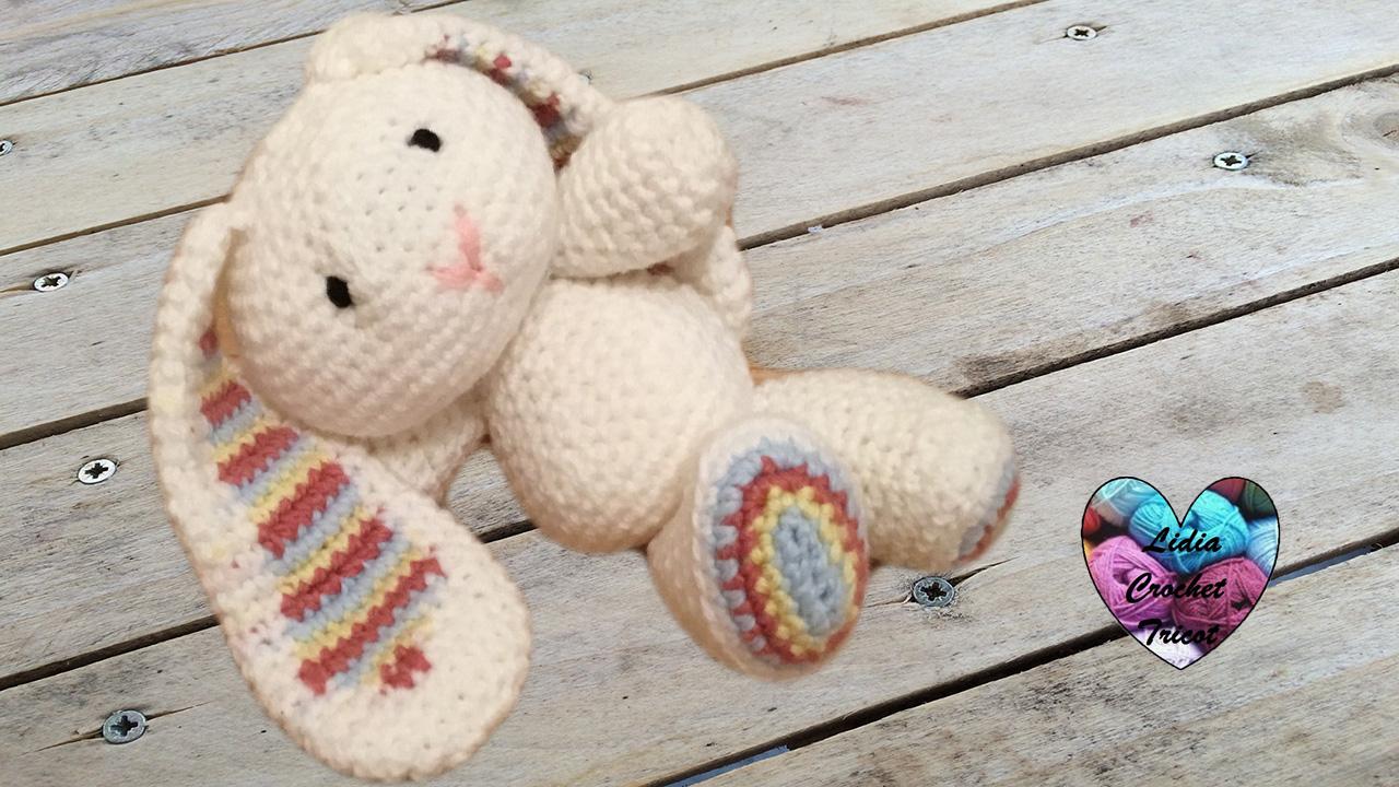 Lapin amigurumi tutoriel au crochet pr sent par lidia - Cote 2 2 tricot ...