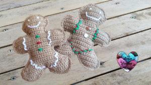 Tutoriels crochet Pain d'épices Noël crochet fait main tutoriel DIY Lidia Crochet Tricot