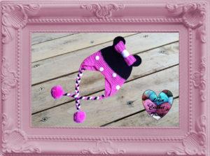 Bonnet Minnie Mouse crochet fait main tutoriel