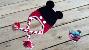 Tutoriels crochet Bonnet Mickey Mouse crochet fait main tutoriel DIY Lidia Crochet Tricot