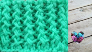 Points tricot Côtes anglaises zig zag tricot facile fait main tutoriel DIY Lidia Crochet Tricot