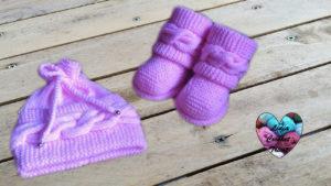 Tutoriels tricot Bonnet à torsade bébé tricot facile fait main tutoriel DIY Lidia Crochet Tricot