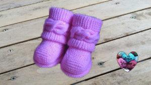 Tutoriels tricot Boots style Uggs tricot facile fait main tutoriel DIY Lidia Crochet Tricot