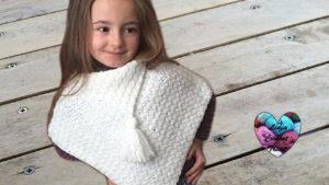 Tutoriels crochet Poncho débutant crochet fait main tutoriel DIY Lidia Crochet Tricot