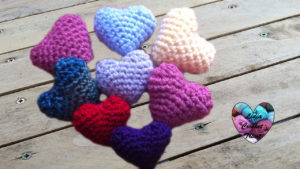 Cœur amigurumi Lidia Crochet Tricot