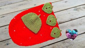 Tutoriels crochet Cocoon bébé fraise crochet fait main tutoriel DIY Lidia Crochet Tricot