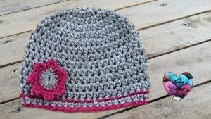 Tutoriels crochet Bonnet bébé crochet fait main tutoriel DIY Lidia Crochet Tricot