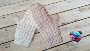 Tutoriels crochet Moufles épis de blé crochet fait main tutoriel DIY Lidia Crochet Tricot