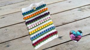 Housse tablette Lidia Crochet Tricot