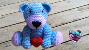 Tutoriels crochet Doudou ours amigurumi crochet fait main tutoriel DIY Lidia Crochet Tricot