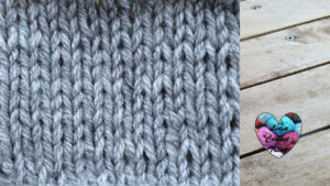 Points tricot Point jersey tricot facile fait main tutoriel DIY Lidia Crochet Tricot