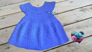 Robe toute tailles Lidia Crochet Tricot