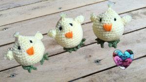 Poussin amigurumi Lidia Crochet Tricot