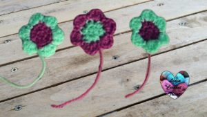Tutoriels crochet Fleur crochet fait main tutoriel DIY Lidia Crochet Tricot
