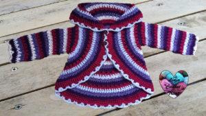 Gilet mandala Lidia Crochet Tricot
