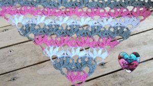 Tutoriels crochet Châle pétales crochet fait main tutoriel DIY Lidia Crochet Tricot