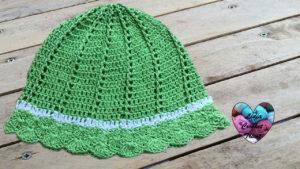Tutoriels crochet Chapeau de soleil crochet fait main tutoriel DIY Lidia Crochet Tricot