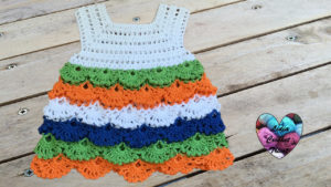 Tutoriels crochet Robe multicolore crochet fait main tutoriel DIY Lidia Crochet Tricot