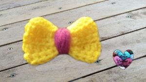 Tutoriels crochet Noeud papillon crochet fait main tutoriel DIY Lidia Crochet Tricot