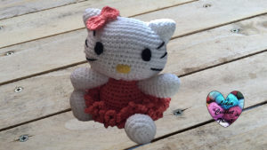 Tutoriels crochet Hello Kitty amigurumi crochet fait main tutoriel DIY Lidia Crochet Tricot