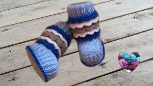 Boots style Ugg Lidia Crochet Tricot
