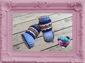 Chaussures Uggs tricot facile tutoriel