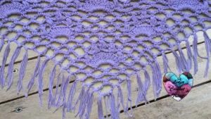 Tutoriels crochet Châle couronnes crochet fait main tutoriel DIY Lidia Crochet Tricot
