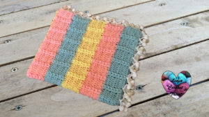 Tutoriels crochet Couverture point puff crochet fait main tutoriel DIY Lidia Crochet Tricot