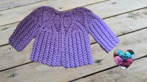 Tutoriels crochet Brassière bébé crochet fait main tutoriel DIY Lidia Crochet Tricot