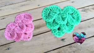 Tutoriels crochet Coeur point crocodile crochet fait main tutoriel DIY Lidia Crochet Tricot