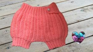 Tutoriels crochet Sarouel bébé crochet fait main tutoriel DIY Lidia Crochet Tricot