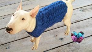 Tutoriels tricot Pull chien torsade tricot facile fait main tutoriel DIY Lidia Crochet Tricot