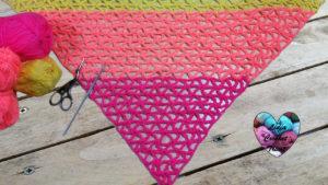 Tutoriels crochet Châle tropical crochet fait main tutoriel DIY Lidia Crochet Tricot