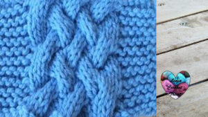 Points tricot Double torsade tricot facile fait main tutoriel DIY Lidia Crochet Tricot