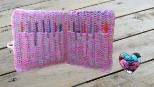 Housse rangement crochets Lidia Crochet Tricot