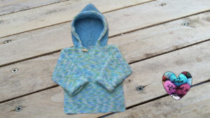 Tutoriels tricot Pull à capuche tricot facile fait main tutoriel DIY Lidia Crochet Tricot