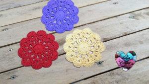Tutoriels crochet Sous verres crochet fait main tutoriel DIY Lidia Crochet Tricot