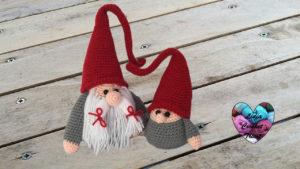Tutoriels crochet Bébé Gnome de Noël amigurumi crochet fait main tutoriel DIY Lidia Crochet Tricot