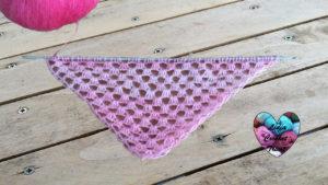 Crochet tunisien Châle crochet tunisien facile tutoriel DIY Lidia Crochet Tricot
