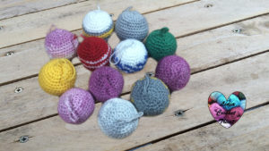 Tutoriels crochet Boules de Noël crochet fait main tutoriel DIY Lidia Crochet Tricot