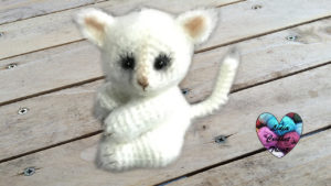 Tutoriels crochet Chat poil long amigurumi crochet fait main tutoriel DIY Lidia Crochet Tricot