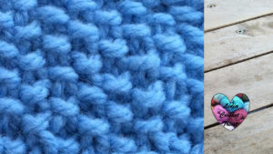 Points tricot Point de riz tricot facile fait main tutoriel DIY Lidia Crochet Tricot