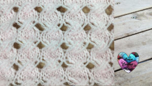 Points tricot Point croisé tricot facile fait main tutoriel DIY Lidia Crochet Tricot