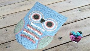 Tutoriels crochet Cocoon bébé hibou crochet fait main tutoriel DIY Lidia Crochet Tricot