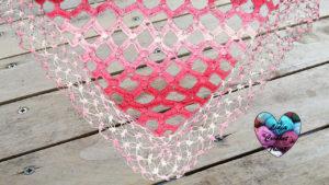 Tutoriels crochet Châle losanges crochet fait main tutoriel DIY Lidia Crochet Tricot