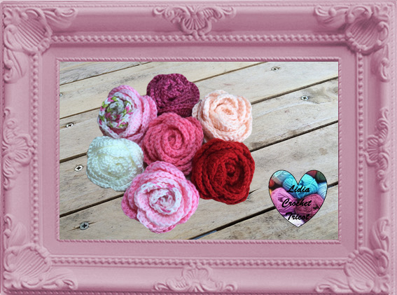 Roses fleurs crochet fait main tutoriel DIY