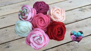 Tutoriels crochet Roses fleurs crochet fait main tutoriel DIY Lidia Crochet Tricot