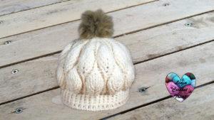 Tutoriels crochet Bonnet feuilles en relief crochet fait main tutoriel DIY Lidia Crochet Tricot