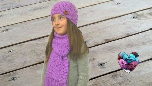 Tutoriels crochet Ensemble bonnet echarpe crochet fait main tutoriel DIY Lidia Crochet Tricot